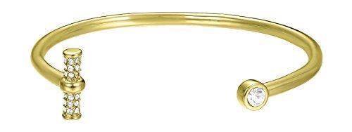 Joop! Damen-Armreif Edelstahl Zirkonia weiß Rundschliff 16 cm - JPBA00003B580