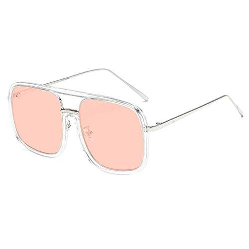 Der Geschmack von zu Hause Brille Sonnenbrillen Männer und Frauen Europäische und amerikanische Mode Persönlichkeit Sonnenbrillen Flut Marke Marke (Color : A)