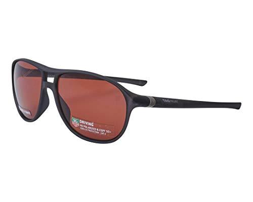 TAG Heuer Sonnenbrillen (TH-6043 212) matt schwarz - pflaumenfarben polarisierte