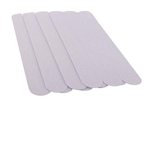 36x Anti Rutsch Streifen (21,5x2,5cm) für Treppen und Bad, Transparente und selbstklebende Antirutsch Klebestreifen (Ziel Teppich-pad)