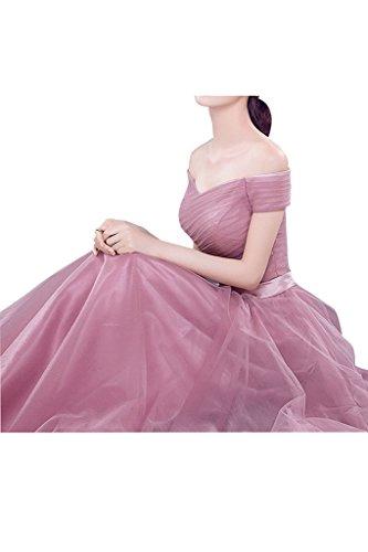 Partykleider lang rosa