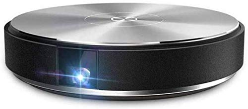 BYBYC Pico-Projektor, Smart-Projektor ohne Leinwand, Mini-Projektor, tragbarer drahtloser Heim-HD-Projektor, 4k / 1080p, Pico-Projektor