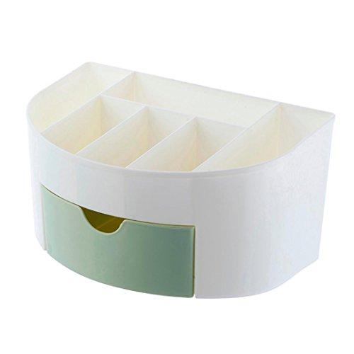 Gaddrt Nouveau maquillage cosmétique case beauté artiste boîte outil de rangement brosses sac organisateur (Vert)