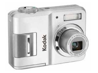 Kodak EasyShare C433 Digitalkamera (4 Megapixel) Silber