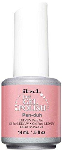 IBD Just Gel UV Nail Polish - Tinseltown/Caligraffiti/Mad about Mod 2014 [Pan Duh] - Top Hat Mod