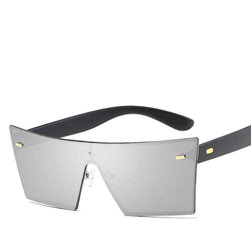 Mens Polarized Square Sonnenbrille Klassische Unisex Sonnenbrille (Farbe : F)