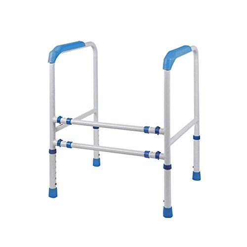 Galleria fotografica HWF Corrimano Parapetto per WC Idoneo a portata di mano handicap sicura Adattabile all'installazione ( Colore : Blu )
