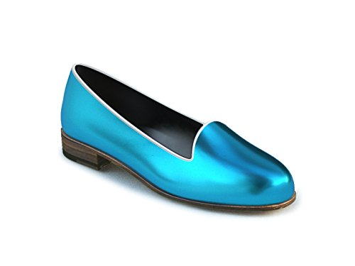DIS - Lucrezia - Mocassin – Femme Bleu