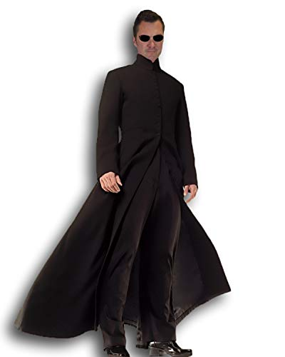 Rubber Johnnies TM Herren Cybe Mann Kostüm The Matrix Film Style ()