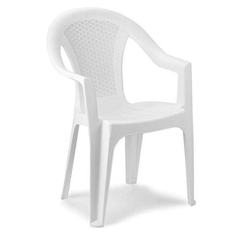Poltrone Da Giardino Plastica.Sedia Impilabile Sedia In Rattan Sguardo Giardino Poltrona Da