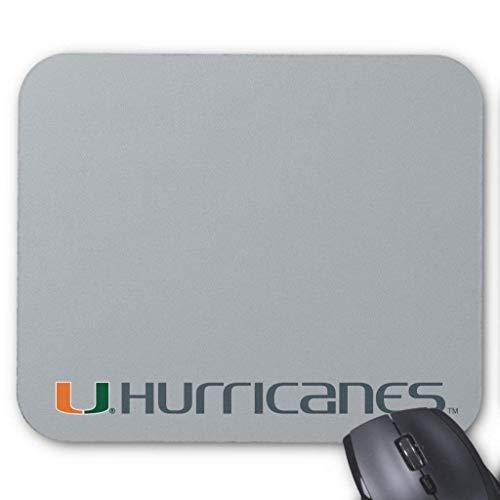 The U Hurricanes Mouse Pad 18×22 cm Edge-hurricane