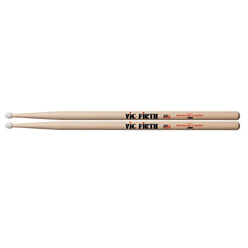 Vic Firth 2B American Hickory Nylon Tip Drumstick