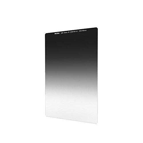 NiSi Verlaufsfilter 100x150mm GND 1.2 Soft, Nanobeschichtet und IR Neutral, mit weichem Verlauf, Stärke 1.2 (4-Blenden)