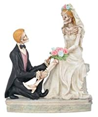 Love Never Dies the Garter Removal Figurine