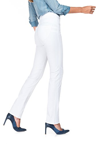 Salsa - Pantalons blancs taille haute slim fit - Secret Push In - Femme Blanc
