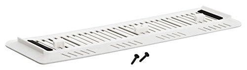 GAMINGER PS4 Slim Standfuß Vertical Standfuß - Besonders stabil durch Schraube - Weiß