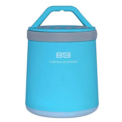 THINKMIC Altavoz, Bluetooth 4.0, Multifuncional bajo, el Portable, al Aire Libre Camping,...
