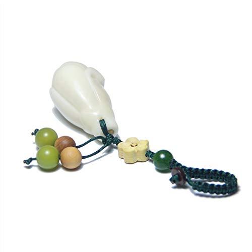 CYSJW Niedlicher Keychain Original-High-End-Schlüssel-Knopf-Anhänger Aus Obst Hausgemachte Schlüsselanhänger Von Bodhi Anhänger Geschenke Von Fans Magnolia -