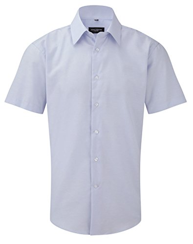 Russell Collection - Chemise casual - Homme Bleu - Bleu Oxford