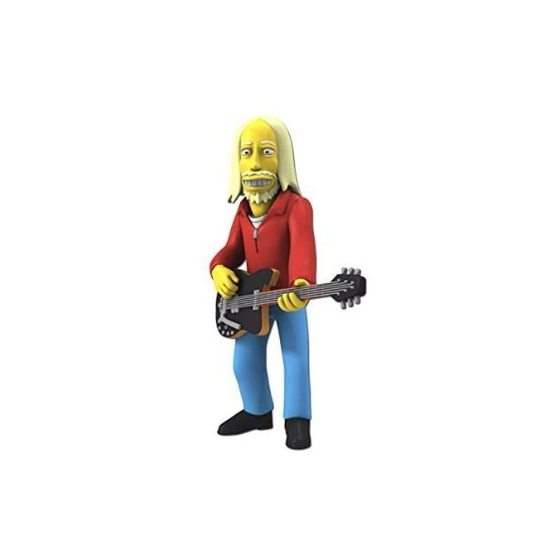 NECA Simpsons 25th Anniversary 5 Series 5 Tom Petty Action Figure by ADVENTURER'S BAG 1
