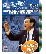 All Access Duke Basketball Practice: National Championship Season (2009-10) (DVD)