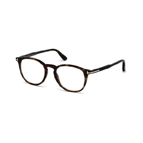 Tom Ford Unisex-Erwachsene Ft5401 Brillengestelle, Braun (AVANA SCURA), 51 (Tom Ford Brille Runde)