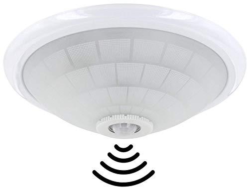 Plafoniera Sensore Di Movimento : Lampada da soffitto e con ir rilevatore di movimento a °