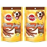 #8: pedigree meat jerky grilled liver 60gm combo (pack of 2)