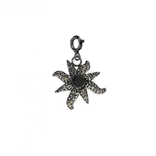 christian-lacroix-pendentif-mtal-noir-etoile-de-mer-pierre