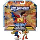 DC Universe 2.25 inch Mini Action League 2-Pack - Superman and Wonder Woman by DC Comics