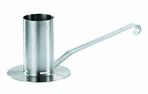 RÖSLE Hähnchenbräter, Edelstahl 18/10, 250 ml Behälter, spülmaschinengeignet