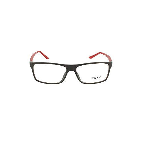 Starck eyes occhiali da vista 0sh1043x black red 56/15/140 uomo