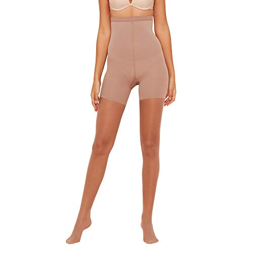 efd711dacf Spanx Assets Red Hot Label Womens Beige Sheer Firm Control Shapewear Tights  A