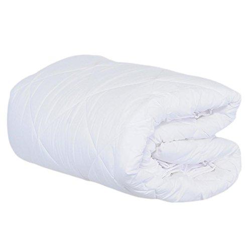 Carillo Prestige M554 Daunendecke, 4-Jahreszeiten-Decke für französisches Bett, 200 x 200, Weiß