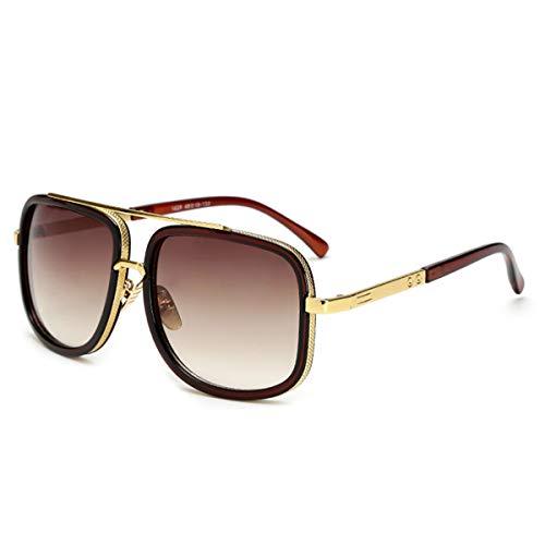 Sport-Sonnenbrillen, Vintage Sonnenbrillen, Oversized Men Mach One Sunglasses Men Luxury Brand Women Sun Glasses Square Male Retro De Sol Female Sunglasses For Men Women JY1828 C3