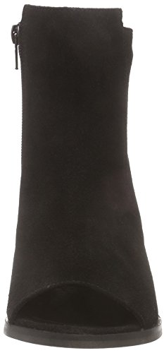VERO MODA Vmisabella Leather Boot Damen Cowboy Stiefel Schwarz (Black)