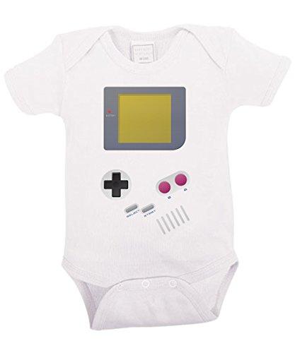 -- Handheld -- Babybody Weiss, Größe 12/18 Monate