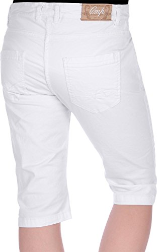 CMP W pantalon 3/4 Blanc