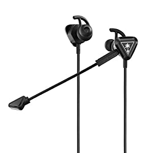 Turtle Beach Battle Buds In-Ear-Gaming-Headset (für Mobile Gaming, Nintendo Switch, Xbox One, PS4 und PS5) schwarz…