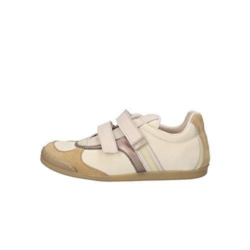 BALDUCCI sneakers bambino 32 EU beige camoscio tessuto pelle AF696