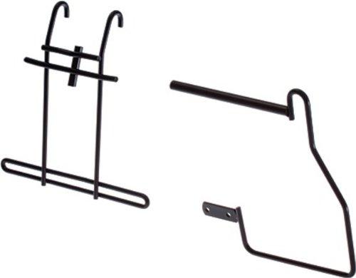 """STECO Taschenhalterung """"Pakaf-Mee"""" schwarz, Stahl, zur Befestigung am H.R.-Gepäckträger, zum sicheren Transport von Taschen bei gleichzeitiger Nutzung eines Kindersitzes"""