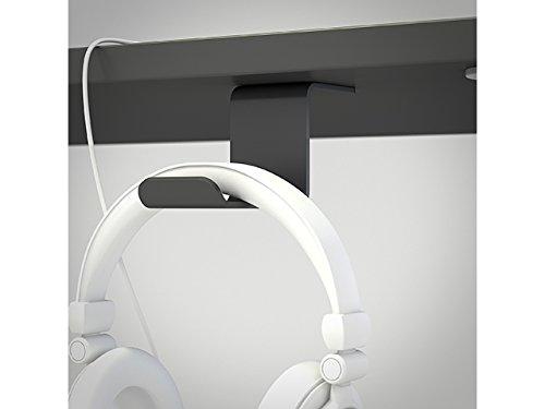 Kopfhörerbuchse unter dem Tisch stehen. Farbe schwarz.