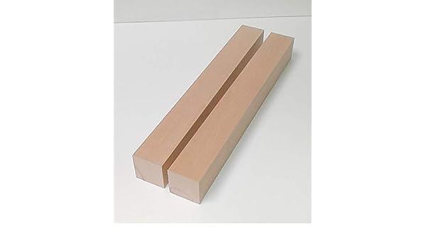 4 Kanth/ölzer Tischf/ü/ße 60x60mm stark Sonderma/ße. 60x60x600mm lang. Bastellholz Drechselholz Fichte//Tanne massiv