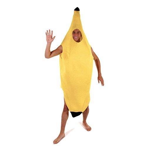 Bananenkostüm - Erwachsene/Herren - für Junggesellenabschied & - Banane Unisex Für Erwachsene Kostüm