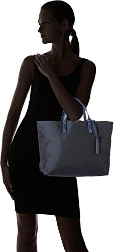 Le Tanneur - Swana Uni, borsetta Donna Blu (Crépuscule)