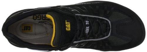 Caterpillar Chaussures de sécurité S1P P715597 Kaufman Noir Noir capuchon en acier Noir (Black)