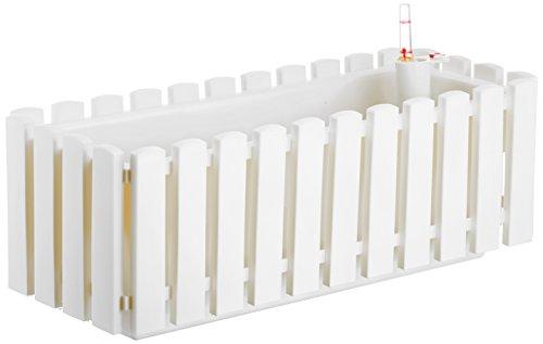 Plastkon autoirrigazione fioriere Smart sistema fency 50cm, bianco