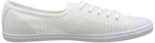 Lacoste Ziane 217 1, Basses Femme Blanc (Blanc)