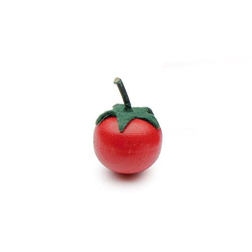 Erzi Juego de Madera de Alimentos - Juego de imaginación Grocery Shop - Cherry Tomate Partido