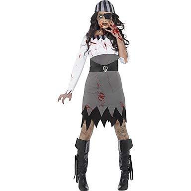 FGDJTYYJ Cosplay Kostüme Maskerade Geist Seeräuber Cosplay Fest/Feiertage Halloween Kostüme Andere Vintage Kleider Kopfbedeckung - Ziel Der Polizei Kostüm